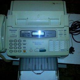 Факсы - Факс Panasonic KX-F1100 на бумаге стандарта A4 , 0