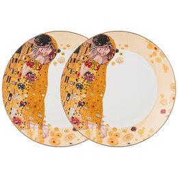 Тарелки - Тарелки фарфоровые кремового цвета, 2 штуки 20,5…, 0