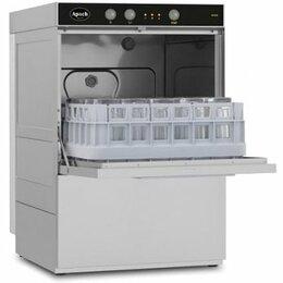 Промышленные посудомоечные машины - Стаканомоечная машина Apach AF400, 0