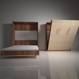 Кровати - Шкаф-кровать с подъемным механизмом трансформер вертикального подъема вп.1, 0