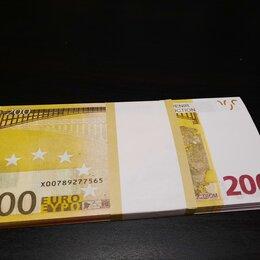 Банкноты - Пачка купюр для розыгрыша 200 евро, 0