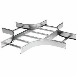 Кабеленесущие системы - DKC Х-ответвитель 50х200 R300, цинк-ламель, 0
