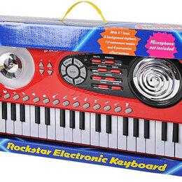 Детские музыкальные инструменты - Playgo 4347 электронный синтезатор, 0