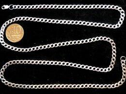 Цепи - Серебряная цепь панцирная.Вес 10 грамм,длина 63 см, 0