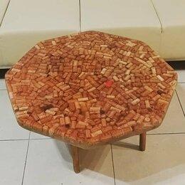 Столы и столики - Стол из винных пробок, 0