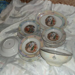 Сервизы и наборы - сервиз тарелки фарфор Мадонна Германия, 0