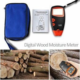 Измерительные инструменты и приборы - Влагомер для древесины (игольчатый), 0