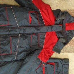 """Комплекты верхней одежды - Зимний костюм """"СПЕЦ"""", утеплённый, цвет серо-красный, размер 58., 0"""