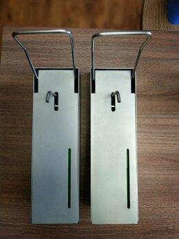 Мыльницы, стаканы и дозаторы - Дозатор настенный локтевой для жидкого мыла и…, 0