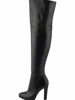 Сапоги - Ботфорты кожаные 39р, 0
