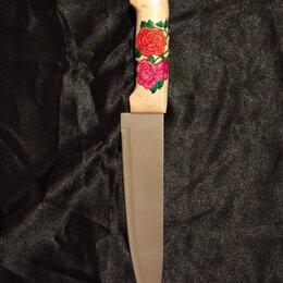 """Ножи кухонные - Нож ручной работы """" Розы """", 0"""