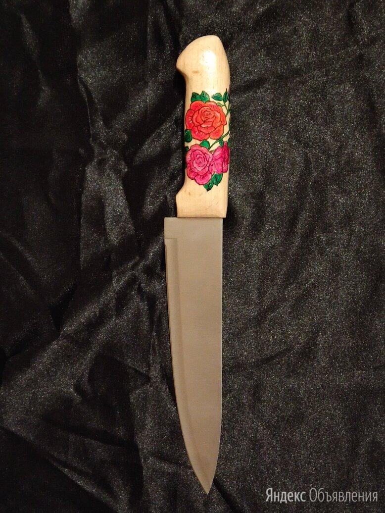 """Нож ручной работы """" Розы """" по цене 1500₽ - Ножи кухонные, фото 0"""