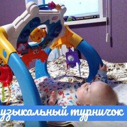 Развивающие игрушки - Развивающий коврик центр турничок, 0