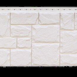 Изоляционные материалы - Фасадная панель Grand Line Крупный камень стандарт молочная, 0