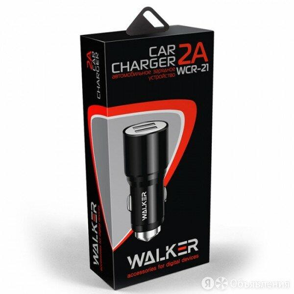 Walker WCR-21. Micro Walker Комплект АЗУ 2 в 1 Walker WCR-21. Micro по цене 300₽ - Кабели и разъемы, фото 0