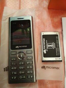 Мобильные телефоны - Сотовый телефон MICROMAX новый, не включается, 0