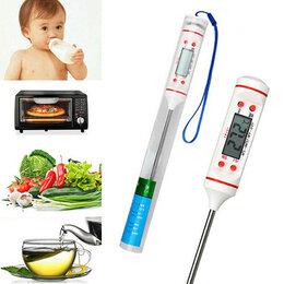 Термометры и таймеры - Термометр кулинарный цифровой до 300 градусов, 0