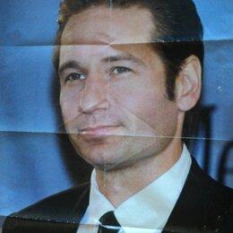 """Постеры и календари - Двухсторонний плакат героев сериала """"Секретные материалы"""" 90-х годов, 0"""