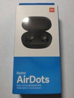Наушники и Bluetooth-гарнитуры - Наушники Xiaomi Redmi AirDots, новые, оригинал, 0