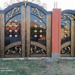 Заборы, ворота и элементы - Ворота кованые в Грозном, 0