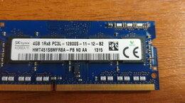 Модули памяти - Память SODIMM nanya 4gb 1rx8 pc3 -12800s, 0