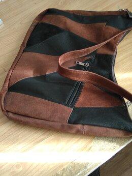 Сумки - Кожаная женская сумочка, 0