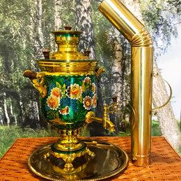 Самовары - Самовар на дровах с Авторской Росписью. 5 л. Набор, 0