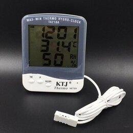 Термометры - Термометр-гигрометр с выносным датчиком (TA218A), 0