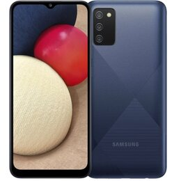 Мобильные телефоны - Samsung Galaxy A02S 3/32GB blue новый, 0