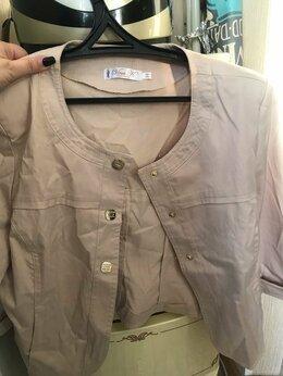 Пиджаки - пиджак жакет женский серый 46-48, 0
