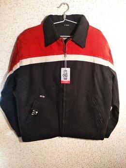 Куртки - Новая зимняя мужская куртка из вареной джинсы…, 0