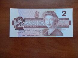 Банкноты - КАНАДА 2 доллара 1986 г., 0