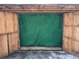 Тенты строительные - Шторы для гаража утепленные (Оксфорд/брезент), 0