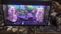Аквариумы, террариумы, тумбы - Аквариум 130 литров. Новый. 7 расцветок. Гарантия, 0