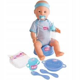 Куклы и пупсы - Simba Пупс New born с аксессуарами, 0