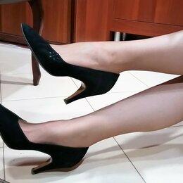 Туфли - 🔴 Замшевые натуральная кожа туфли винтаж, 0
