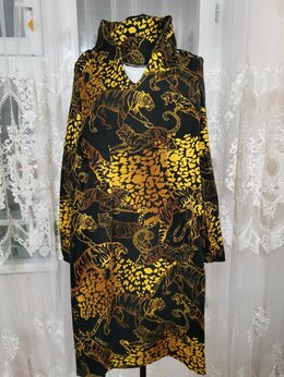 Платья - Платье из джинсы, по фигуре, 0