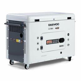 Электрогенераторы - Генератор дизельный Daewoo (Дэу) DDAE 11000SE, 0