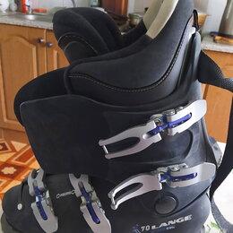 Ботинки - Горнолыжные ботинки Lange CRL 70 мужские р.43, 0