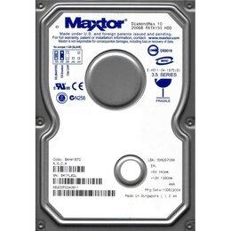 Внешние жесткие диски и SSD - Винчестер IDE 200Gb Maxtor, 0