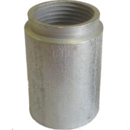 """Элементы систем отопления - Бобышка для бимет. терм-ов, имп. оборуд. L=40, G1/2"""", 0"""
