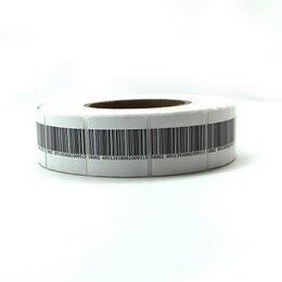 Расходные материалы - Этикетка противокражная Frozen, 40х40мм, штрих-код, 0
