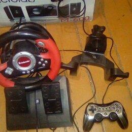 Рули, джойстики, геймпады - Руль, педаль, джойстик Defender для гонок для компьютера, 0