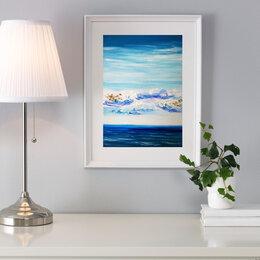 """Картины, постеры, гобелены, панно - Картина """"Экс-Казантип. Пляж, 0"""