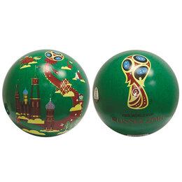 Мячи - Мяч ПВХ 23 см Забивака зеленый Кубок 100 г FIFA-2018, 0