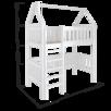 Кроватка домик чердак из массива Benua по цене 23500₽ - Кроватки, фото 2