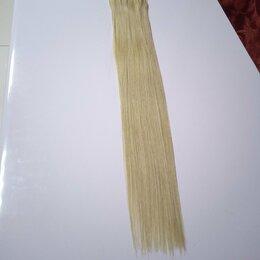 Аксессуары для волос - Натуральные волосы славянка люкс 62см, доя наращивания, 0