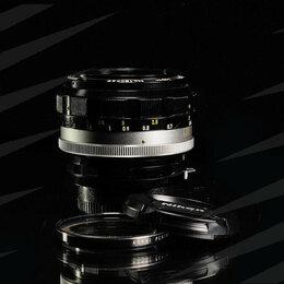 Объективы - Nikon 55 mm 1.2 // 1866 , 0