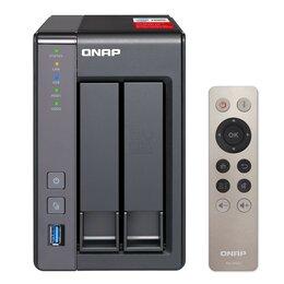 Сетевые накопители - Сетевое хранилище QNAP TS-251+-2G, 0
