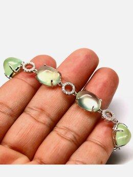 Браслеты - Браслет серебро натуральные камни, 0